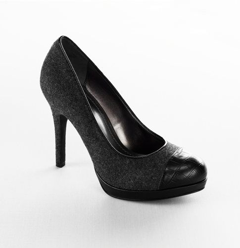 Casey Cap Toe Heel from Loft $89.50. Would love to find something similar for a little less.