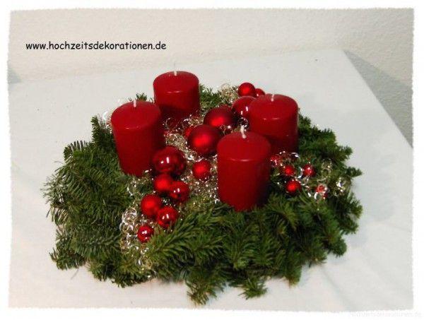 adventskranz modern bordeaux weihnachten pinterest adventskranz modern bordeaux und. Black Bedroom Furniture Sets. Home Design Ideas