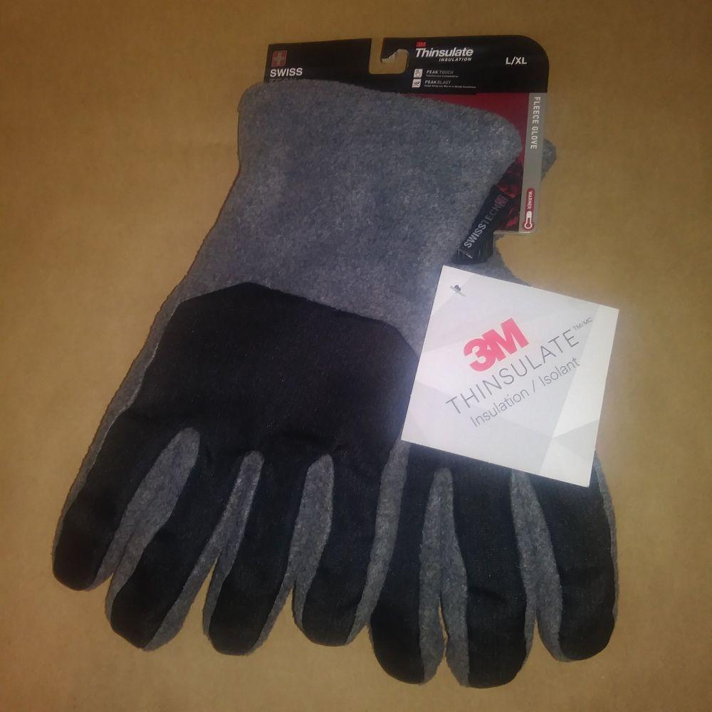 3M Thinsulate Insulation Swiss Tech Fleece Winter Athletic