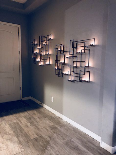 Circuit Metal Wall Candle Holder In 2019 Wall Candle
