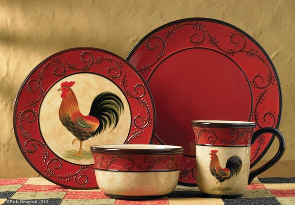 Country Primitive Dishes Countryside Dinnerware Country Decor