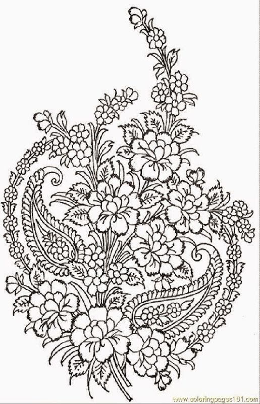 Geometric Art Coloring Book : Geometric patterns coloring pages az flower
