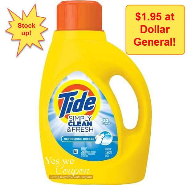 Latest Deals Clearance And Coupons With Images Tide Simply