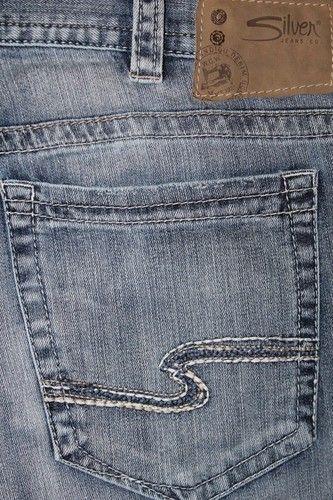 Men's Silver Jeans 34 x 34