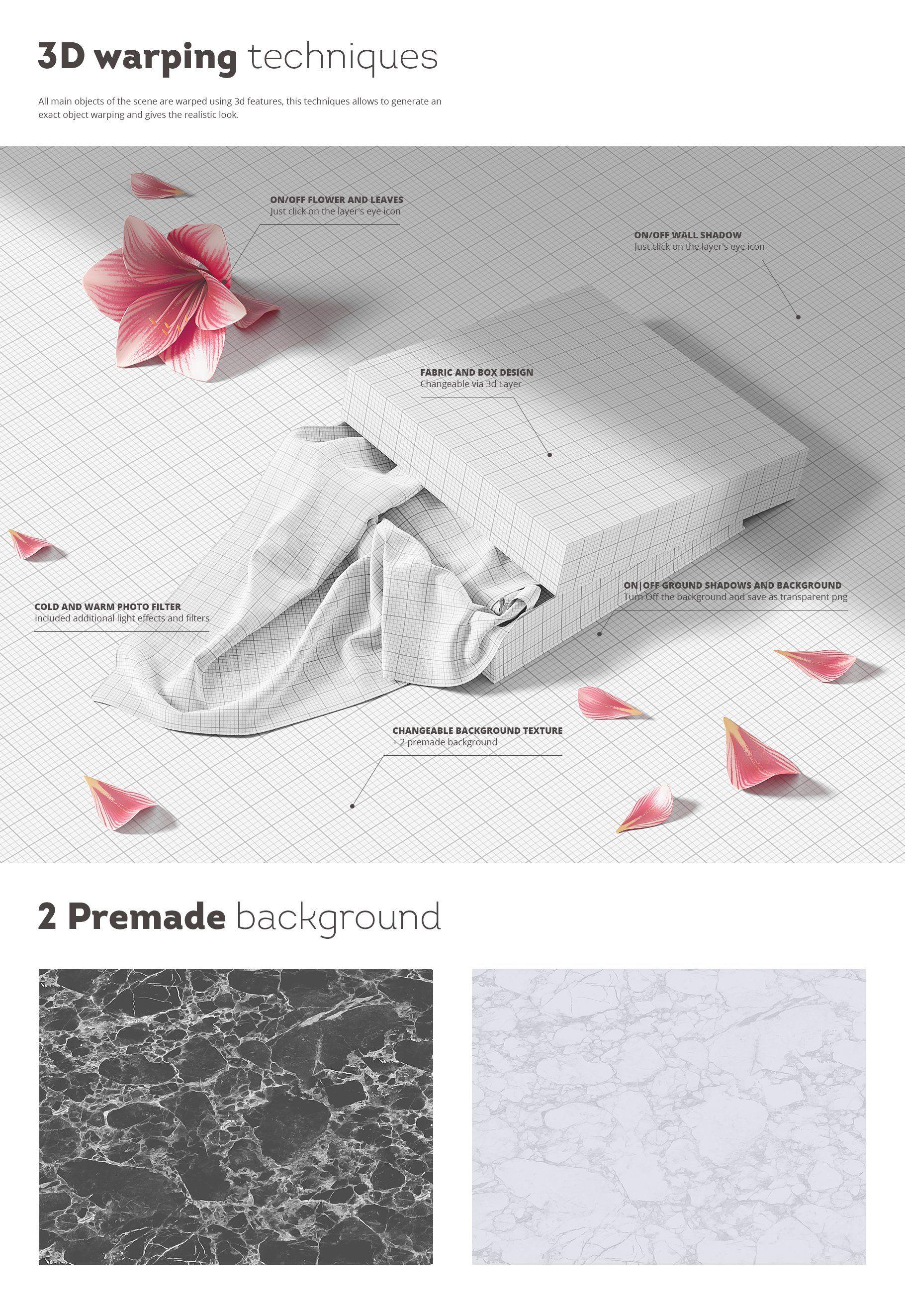 Fabric Mockup Photoshop Design Fabric Print Patterns
