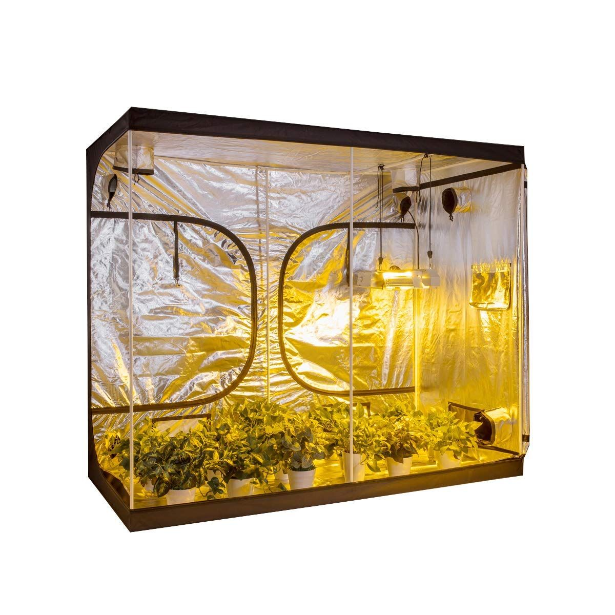 Amazon Com Growtent Garden 96 X48 X78 Reflective 600D 640 x 480