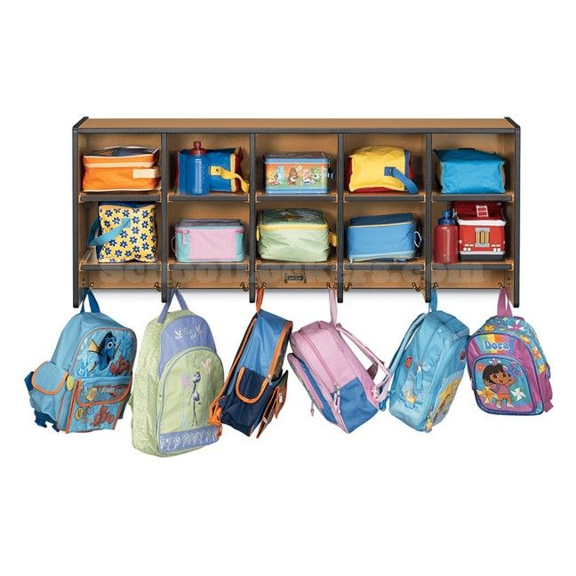 Classroom Hook Ideas : Organize the classroom by having cubbies a hook