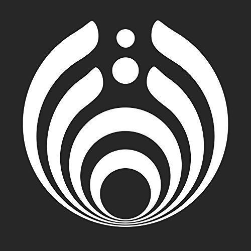 Bassnectar Decal Sticker   5.5-Inches   Premium Quality White Vinyl Decal   Greek symbol for ...