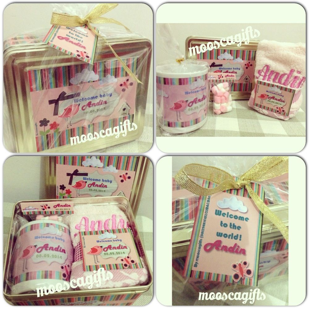 One Set First Month Baby Goodie Bags One Month Baby Baby Month By Month Baby Gifts