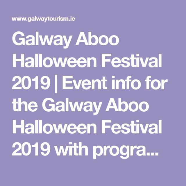 Galway Halloween 2020 Galway Aboo Halloween Festival 2020 event in Galway, Ireland