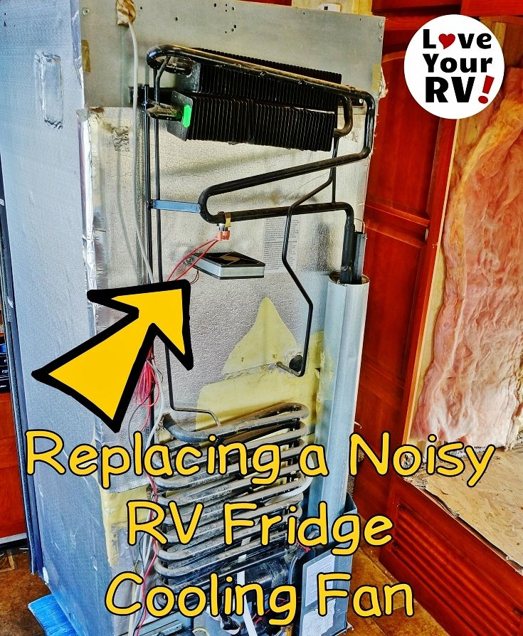 Replacing My Noisy Dometic Dm2652 Rv Fridge Fan Rv Tent Camping