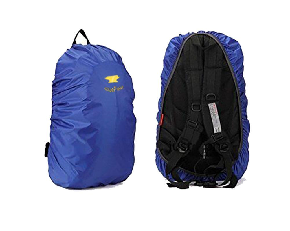 BlueField Outdoor Backpack Rain Cover Bag for Hiking Camping Water-resistant  Color Blue Size M. Lightweight, compact, foldable and multifunctional. 8b59bdede5