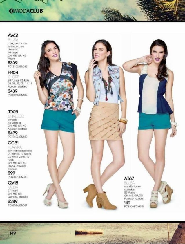 2 catalogo moda club intermedio verano 2015 looks de moda for Catalogo acqua e sapone 2015