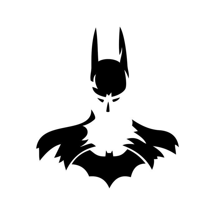 Batman Superhero graphics design SVG DXF EPS Png Cdr Ai Pdf Vector Art Clipart instant download Digital Cut Print File Mug Vinyl shirt Decal is part of Batman silhouette - This is a digital cutting file designed to be used with an craft cutting machine like a Cricut or a Silhouette  This product includes 1 SVG 1 DXF