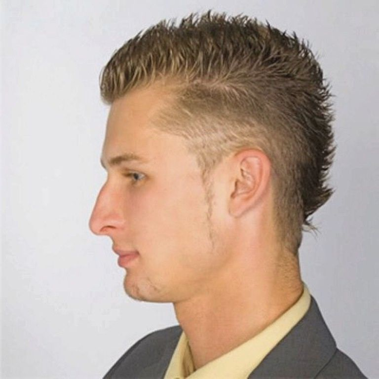 Different Hairstyles For Men backcombed hairstyle with beard Round Head Hairstyles Guys More Picture Round Head Hairstyles Guys Please Visit Iraqeen