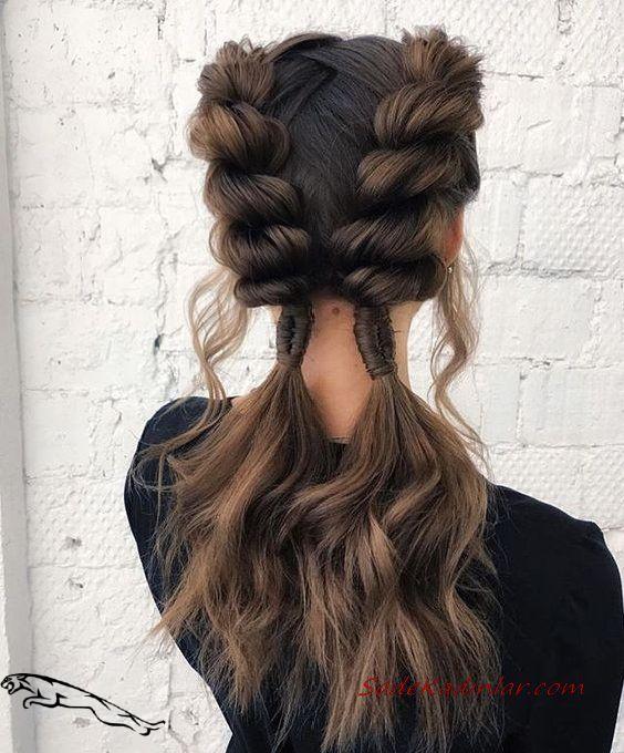 2019 En Sik Ve Goz Alici Orgu Sac Modelleri 2019 Alici En Goz Modelleri Orgu Frisurenflechten Long Hair Styles Short Hair Styles Braided Hairstyles