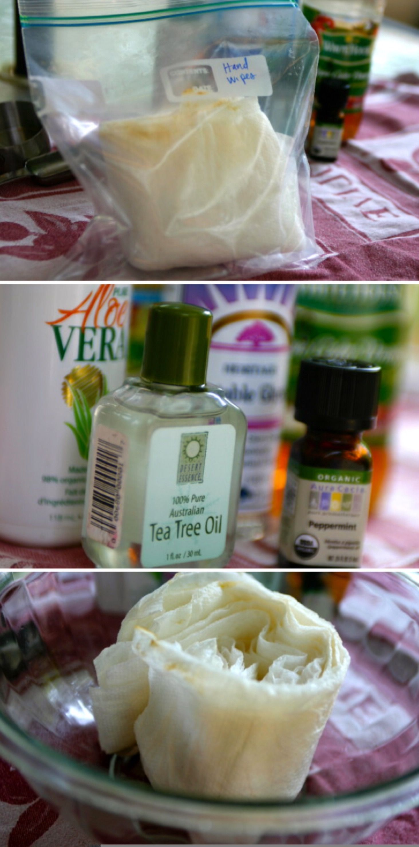 Diy Homemade Hand Sanitizing Wipes Homemade Diy Sanitisers Diy