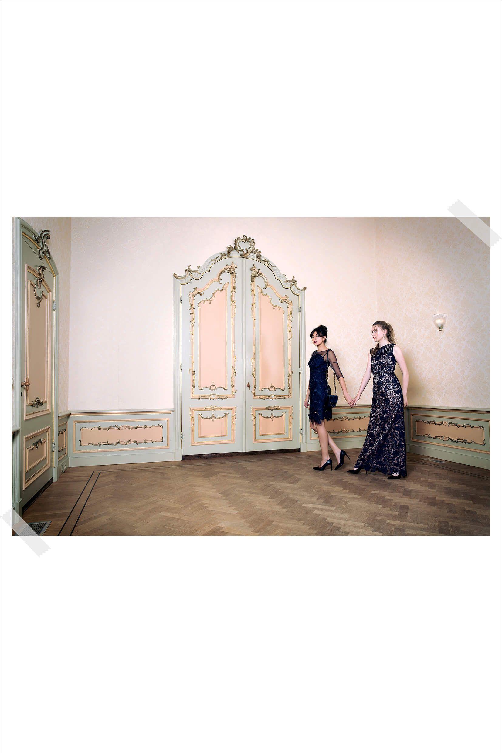 Jurken Huren. Adrianna Papell. Brittlebush. Elegant dresses. Maxi dress. Midi dress. Photographer Elza van der Saag.