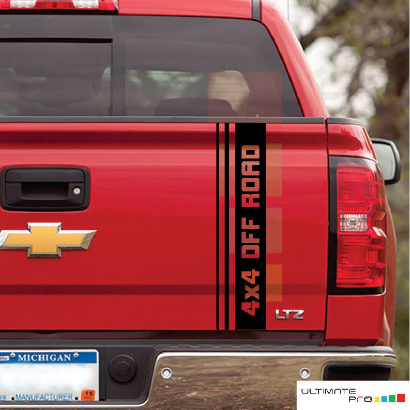 4x4 Truck Bed Side Decal For 1998 2007 Chevy Silverado Gmc Sierra Sticker Set Ultimateprocy Chevrolet Silverado Gmc Trucks Chevrolet Silverado 1500