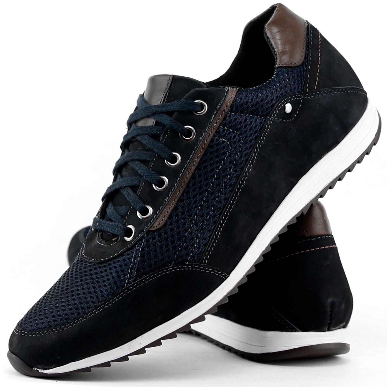 a68746881 sapatenis tênis casual couro jogger jogging masculino dhl | Shoes |  Sapatênis, Tenis casual, Sapatênis masculino