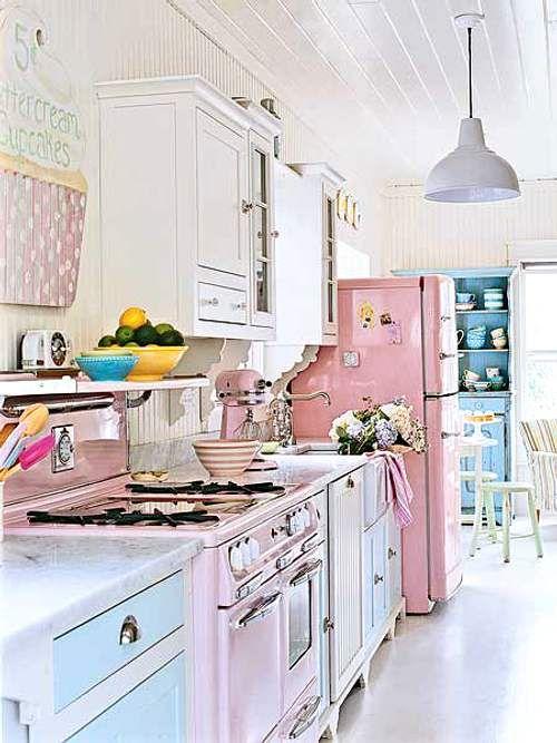 déco intérieur Pastel | Le pastel et le vintage pour mon futur chez ...