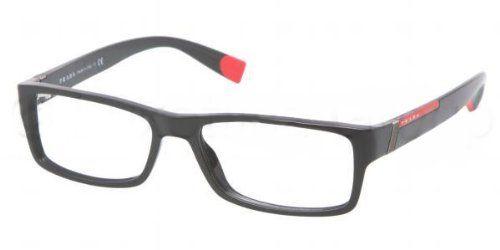 70ab6c942fe2 Prada Eyeglasses VPS 03C BLACK 1AB-101 VPS03C « Impulse Clothes ...