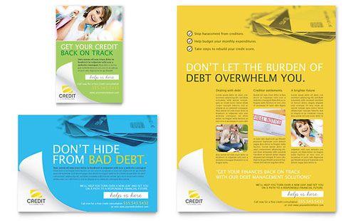 Credit Counselor Flyer & Ad | [design] brochures | Pinterest ...
