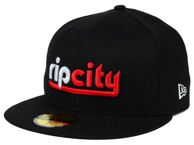 6cc277ab65ba6 Portland Trail Blazers NBA HWC Team Color Team 59FIFTY Cap Hats ...