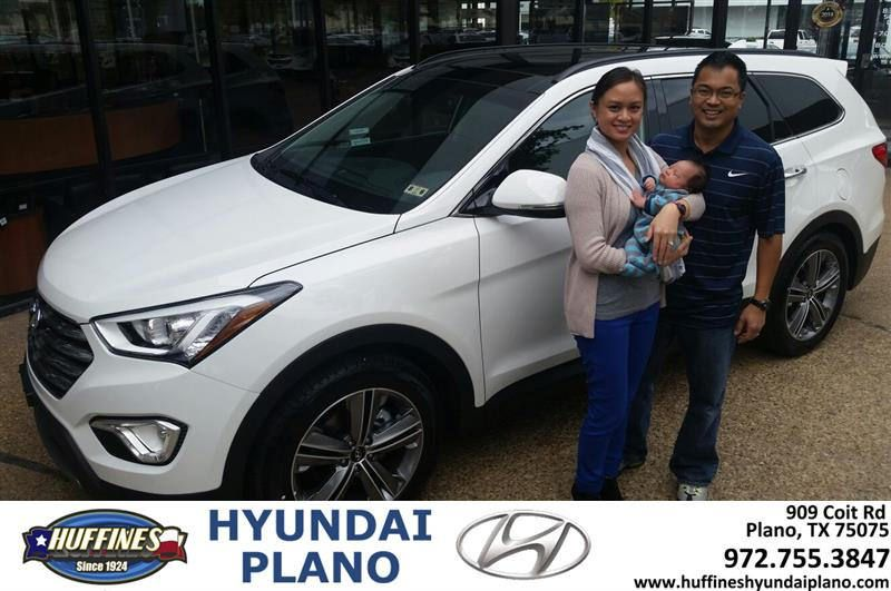 HappyAnniversary to Ivan and your 2014 Hyundai Santa Fe