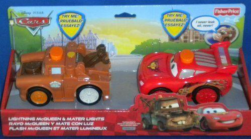 Disney Pixar Cars 2 Talking Flashlights Lightning Mcqueen Mater Fisher Price Mattel New By Mattel 27 50 N