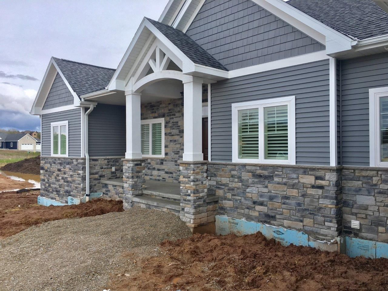 Project Photos Gagnon Clay Products Exterior Stone House