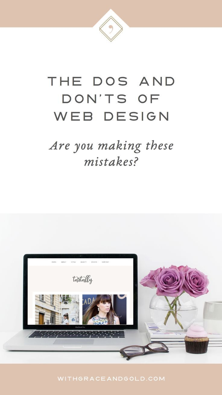 Dos and Donts of Web Design | Branding and Website for small business owners