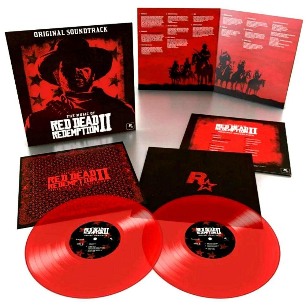 Red Dead Redemption Ii Lp Translucent Red Color Vinyl Lp Record Album Soundtrack In 2020 Red Dead Redemption Ii Red Dead Redemption Soundtrack