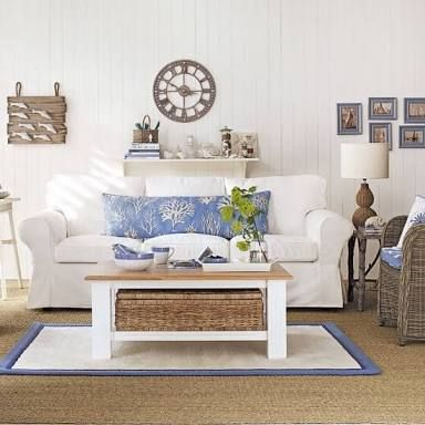 Image result for country coastal living room