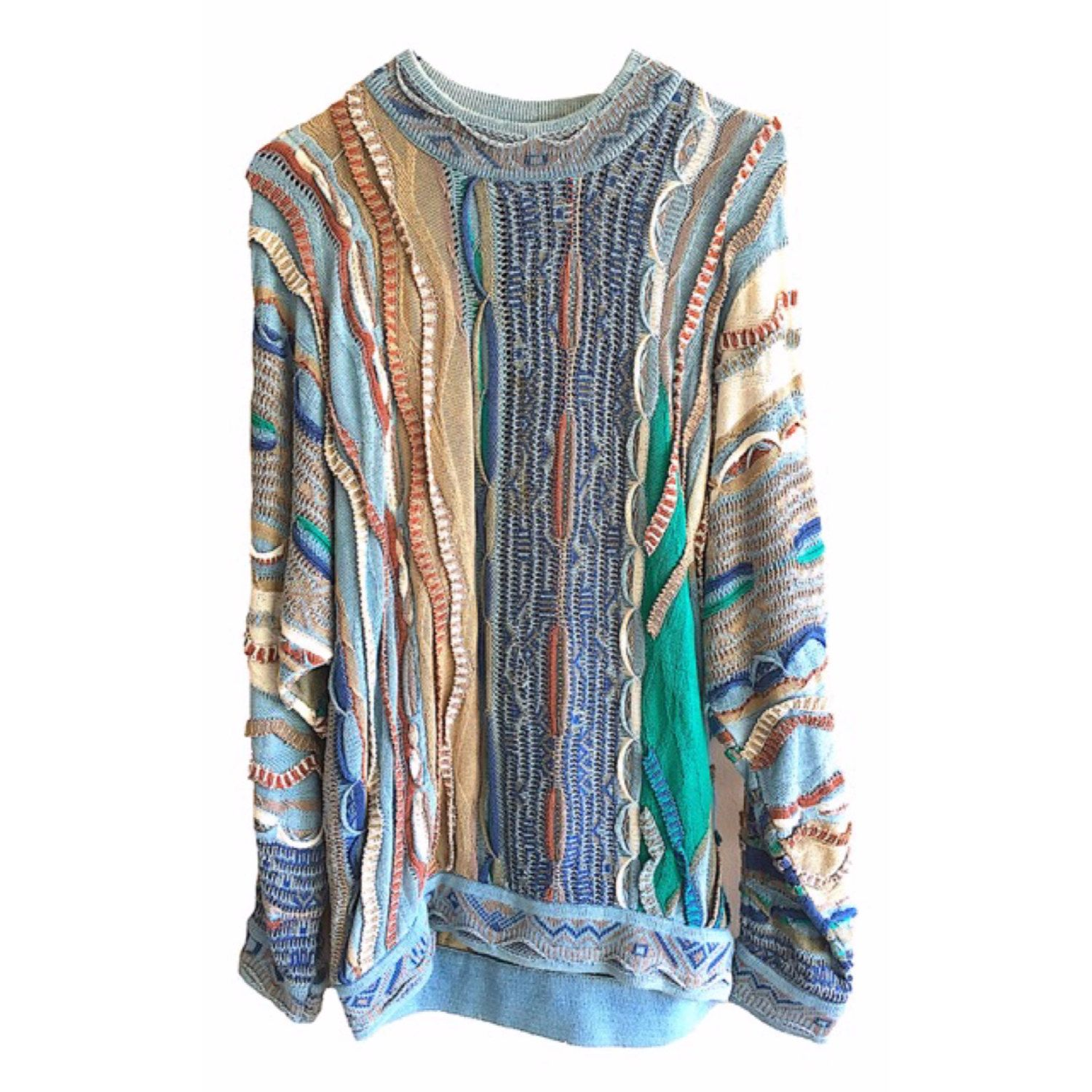 Cooji Blues Sweater Cotton Small mens womens vintage australia ...