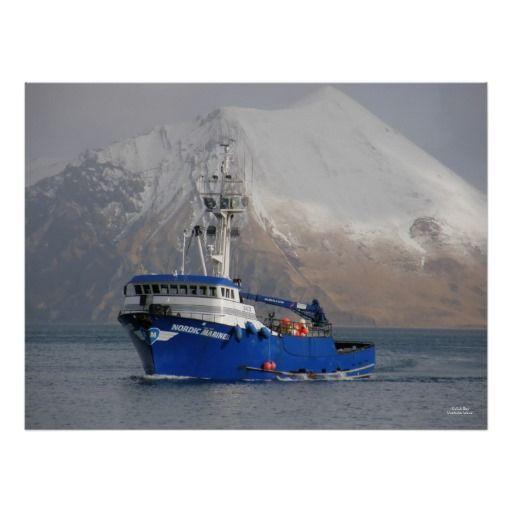 Nordic Mariner, Crab Boat in Dutch Harbor, AK