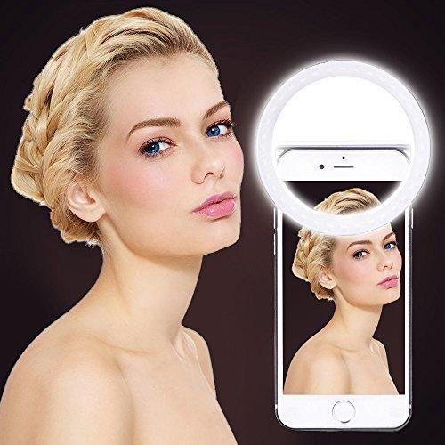 ring light for iphone 6. luxury universal led flash light up selfie luminous phone ring for iphone 6 plus lg samsung xiaomi huawei lenovo oneplus iphone