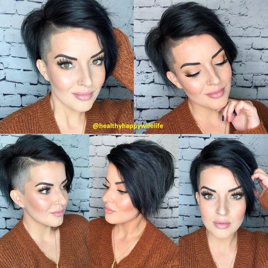 kurze schwarze Haar (9) - Frisuren für die Frau  Kurze schwarze
