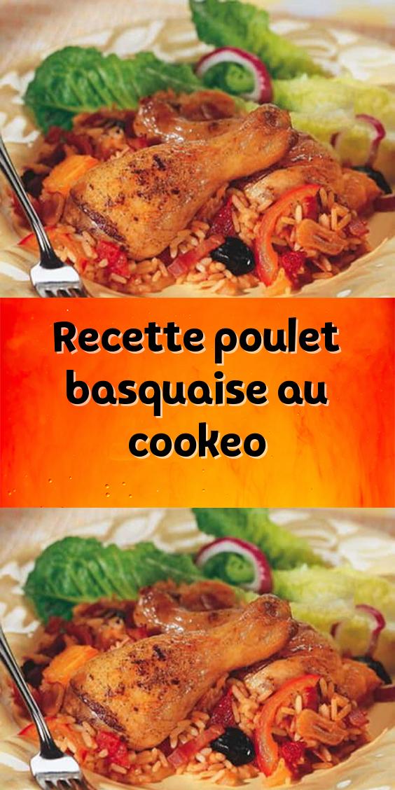 Recette Poulet Basquaise Au Cookeo Un Plat De La Saveur Du