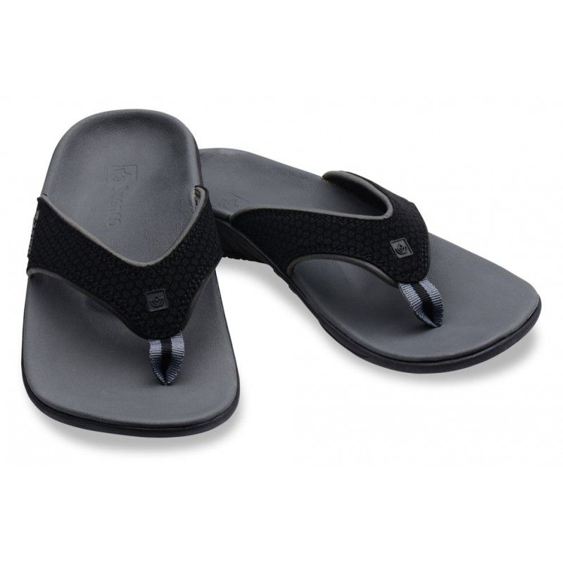 7a33a06f8d31  NewProduct  Spenco Polysorb Total Support Yumi WIDE Sandals for Women in  Black