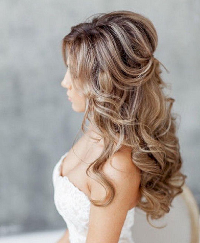 Stunning Half Up Half Down Wedding Hairstyles Ideas No 129 Wedding