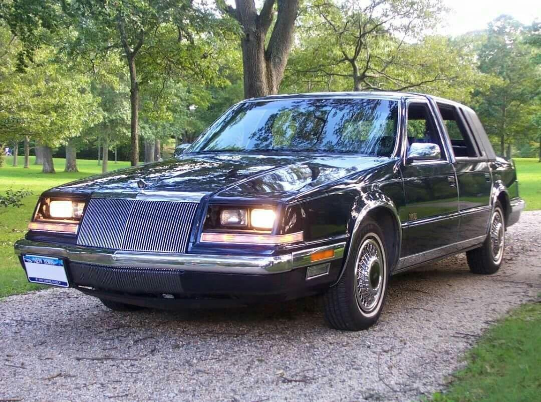 1992 Chrysler Imperial 4 Door Sedan Chrysler Imperial Chrysler