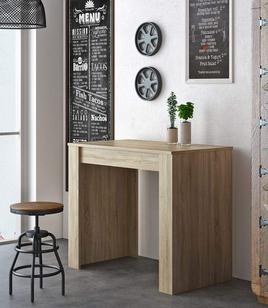 Home Innovation Extendable Console Dining Modern Table Up To 237