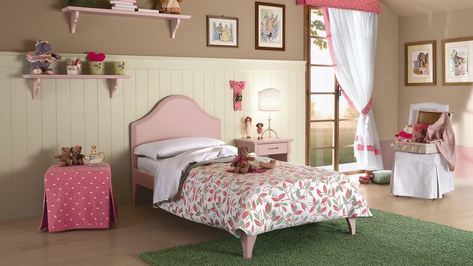 Cameretta con Boiserie | Callesella | Camera da letto legno ...