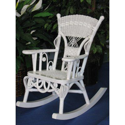 Victorian Child S Millie Rocking Chair Finish White