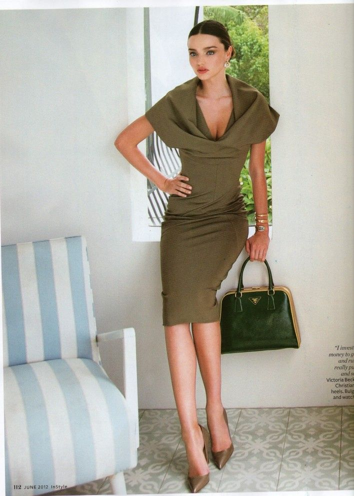 Miranda Kerr for InStyle Australia - June 2012 . Distinguida y con estilo. Chic style.