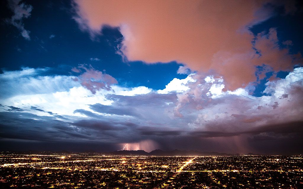 """""""Desert Storm"""" -- #wallpaper by """"BavPhotography"""" from http://interfacelift. com -- Saw the storm system rolling in and went for a small hike to capture the ..."""