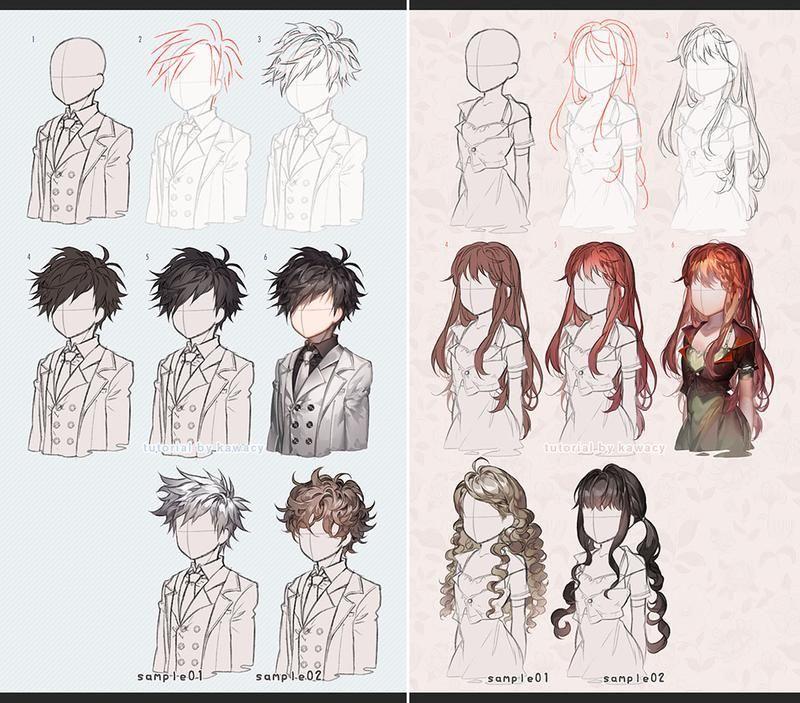 ✔ Anime Male Long Hair Guys #animecosplay #animedraw #animeartist