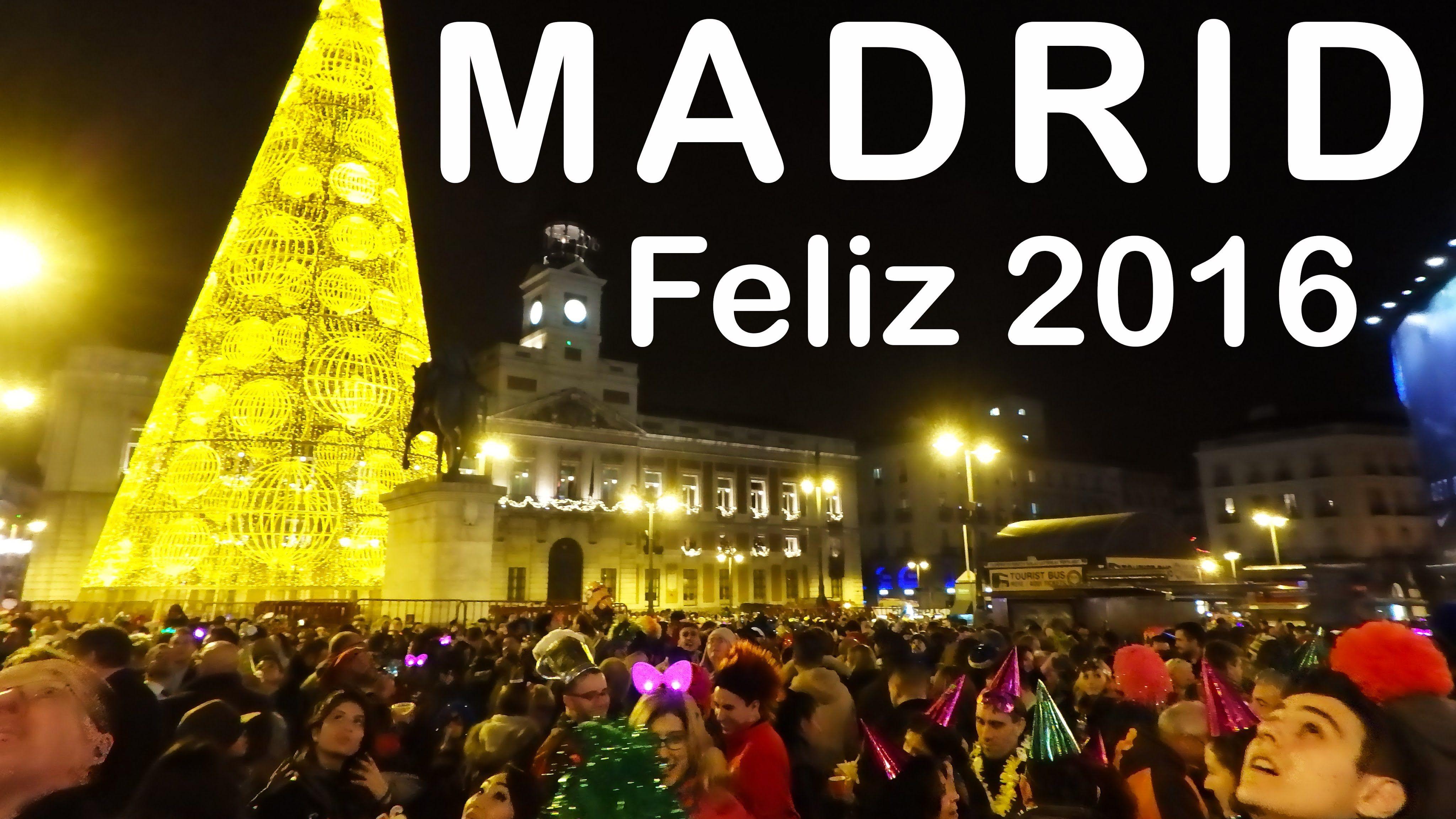 Madrid Puerta Del Sol Nochevieja New Years Eve 20152016