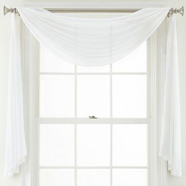 9 99 Jcpenney Com Royal Velvet Lantana Window Scarf Valance